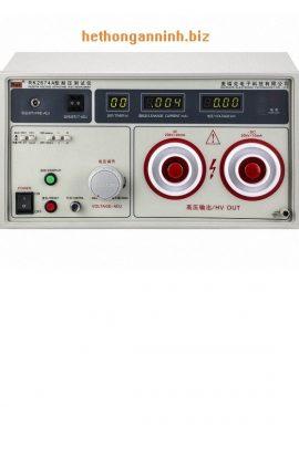 Mặt trước máy đo dòng rò RK2674A DD
