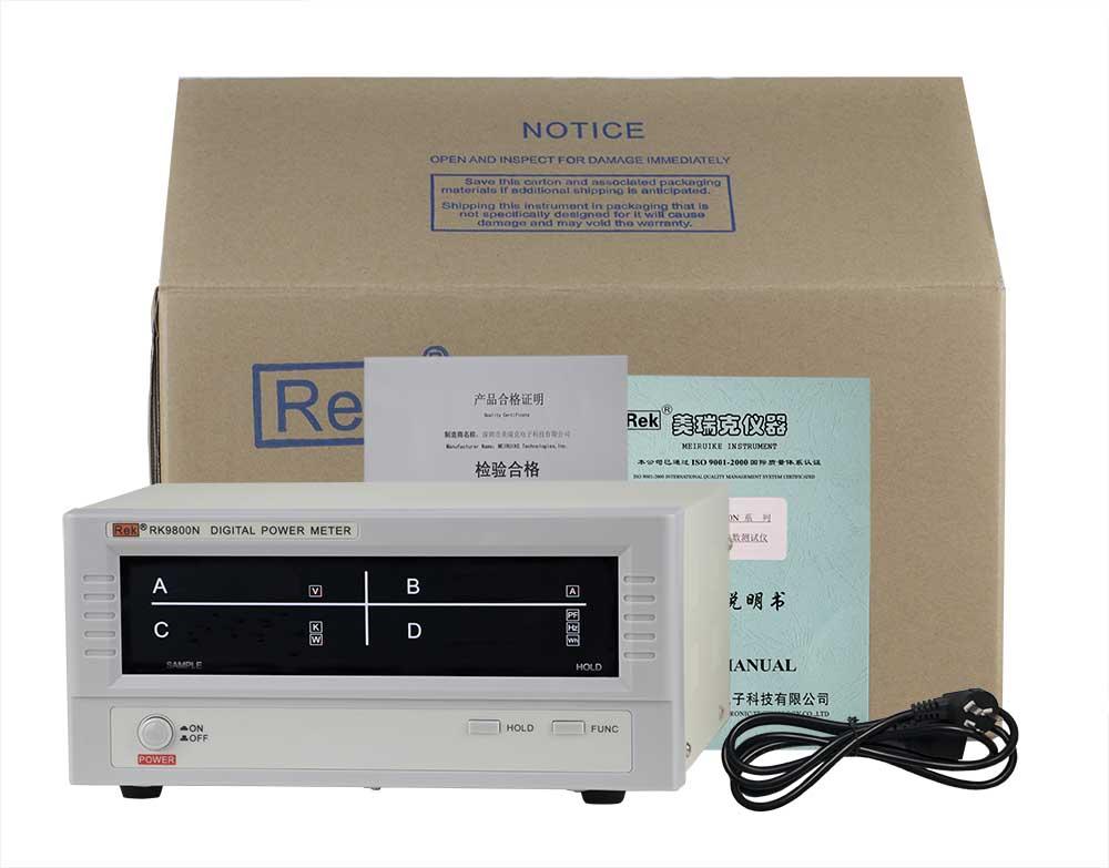 Bộ sản phẩm đồng hồ đo thông minh RK9800N