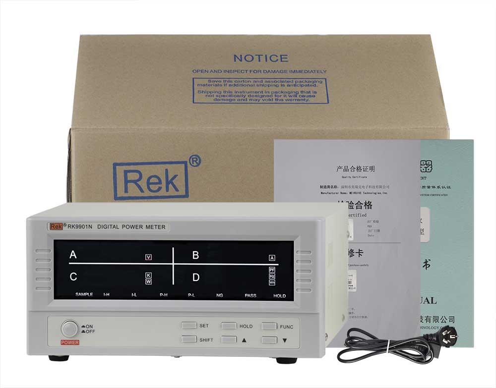Bộ sản phẩm đồng hồ đo điện thông minh RK9901N