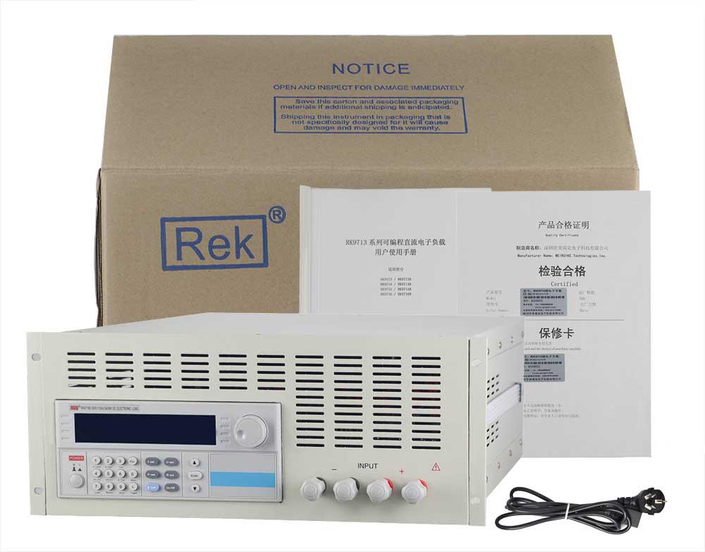 Bộ sản phẩm tải điện tử RK9715B