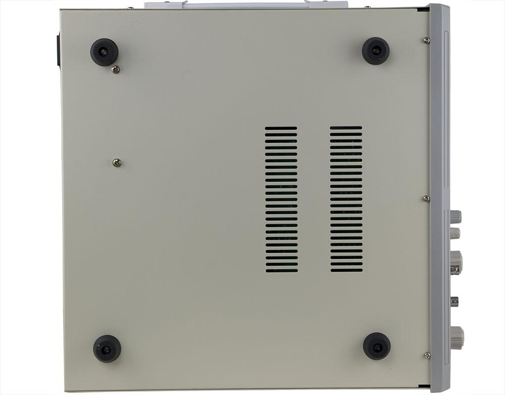 mặt dưới máy đo điện trở cách điện RK2681A