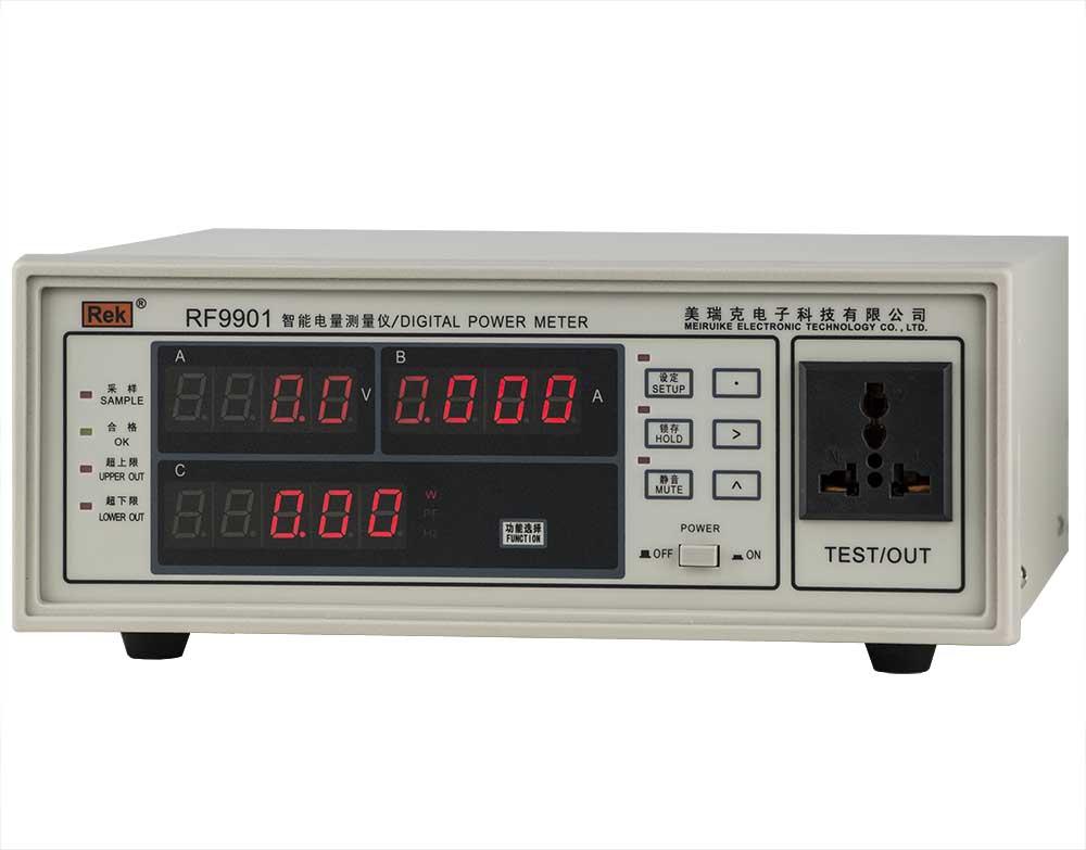 Mặt nghiêng đồng hồ đo điện thông minh RF9801