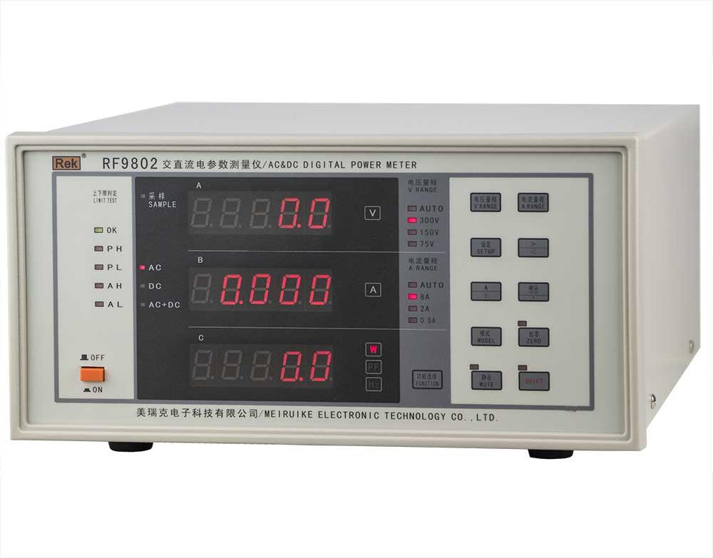 Mặt nghiêng đồng hồ đo thông minh RF9802