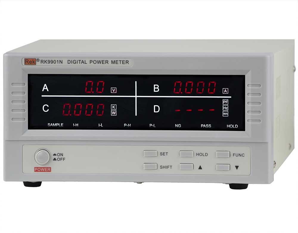 Mặt nghiêng đồng hồ đo điện thông minh RK9901N