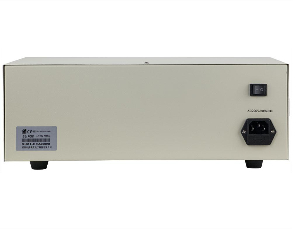 mặt sau máy đo điện trở cách điện RK2681A