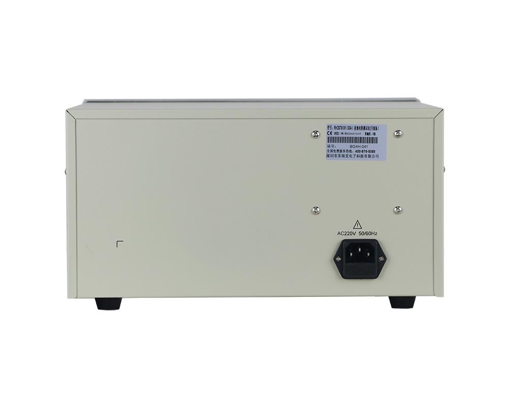 mặt sau máy đo điện trở nối đất RK2678XM