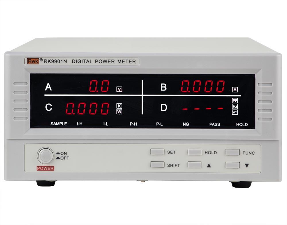 Mặt trước đồng hồ đo điện thông minh RK9901N