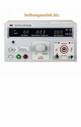 Mặt trước máy đo dòng rò RK2670AM
