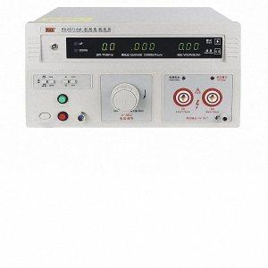 Mặt trước máy đo dòng rò RK2671AM