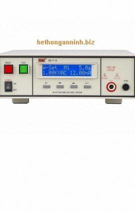 mặt trước máy đo dòng rò RK7110 DD