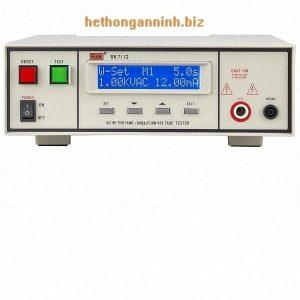 mặt trước máy đo dòng rò RK7112 DD