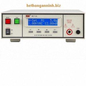 mặt trước máy đo dòng rò RK7120 DD