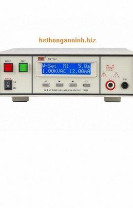 mặt trước máy đo dòng rò RK7122 DD