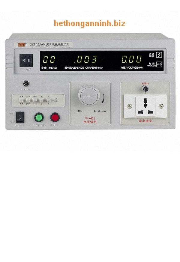Máy đo dòng rò dây dẫn RK2675AM