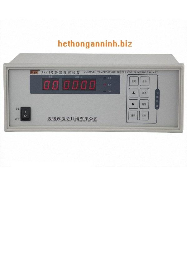 Máy đo nhiệt độ đa kênh RK-16