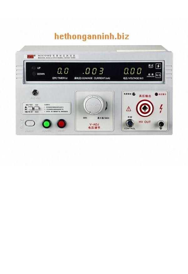 Máy đo độ an toàn cho thiết bị y tế RK2670YM