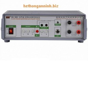 máy đo phân cực mic RK5911