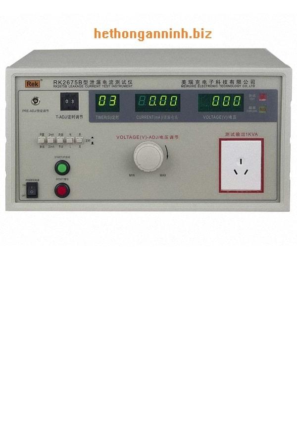 máy đo dòng rò RK2675B