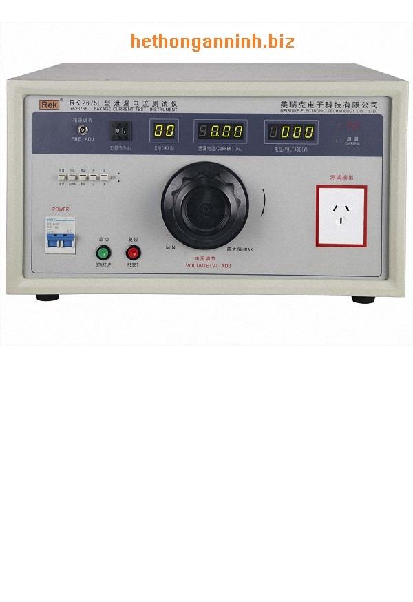 máy đo dòng rò RK2675E